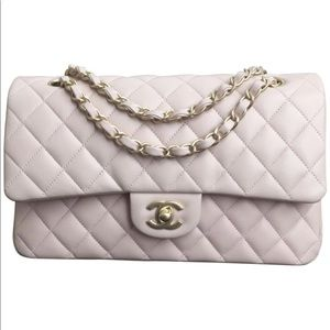 Chanel Medium Flap Light Pink Lambskin